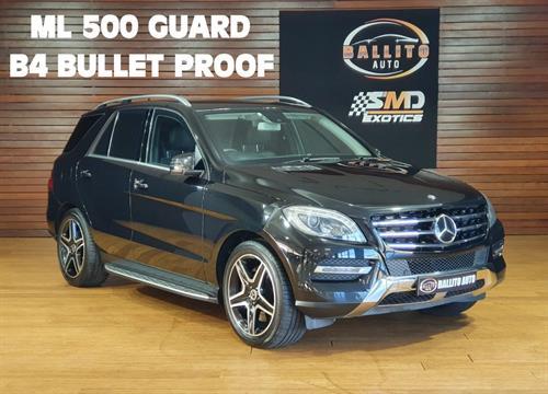 Mercedes Benz ML 500 Blue Efficiency