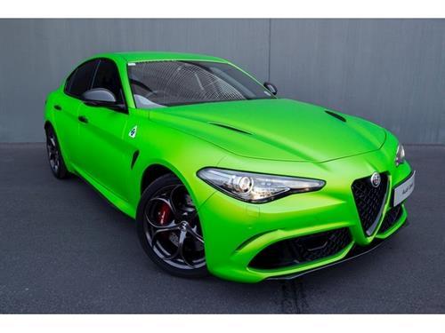 Alfa Romeo Giulia 2.9T V6 Launch Edition