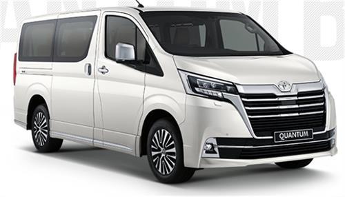 Toyota Quantum 2.8 VX 9 Seater