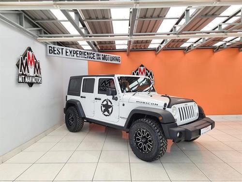 Jeep Wrangler Unlimited 3.6 Rubicon Auto
