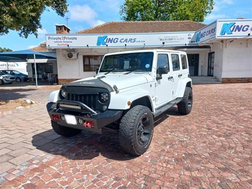 Jeep Wrangler Unlimited Sahara 3.6 V6 Auto